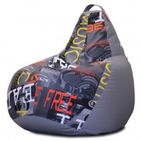Кресло мешок Комбо Дарк