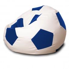 Кресло мешок Мяч Синий / Белый