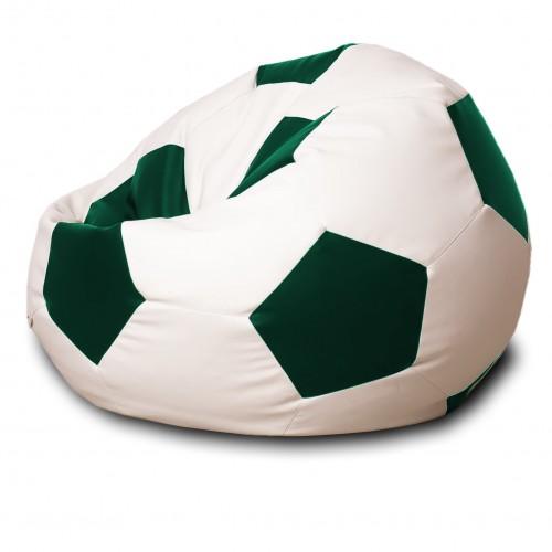 Кресло мешок Мяч Зеленый / Белый