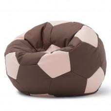 Кресло мешок Мяч Коричневый / Бежевый