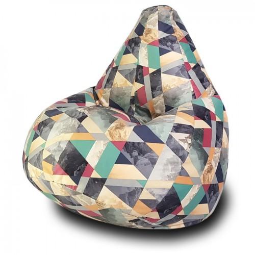 Кресло мешок Сноу Аква