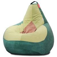 Кресло мешок Велюр Авокадо