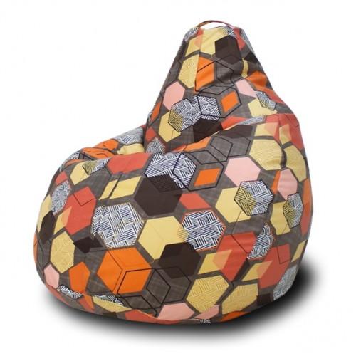 Кресло мешок Геометрия