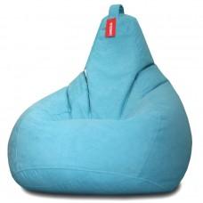 Кресло мешок Велюр Бирюза