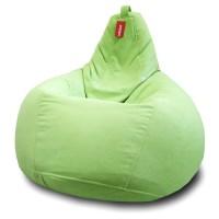 Кресло мешок Велюр Зеленый